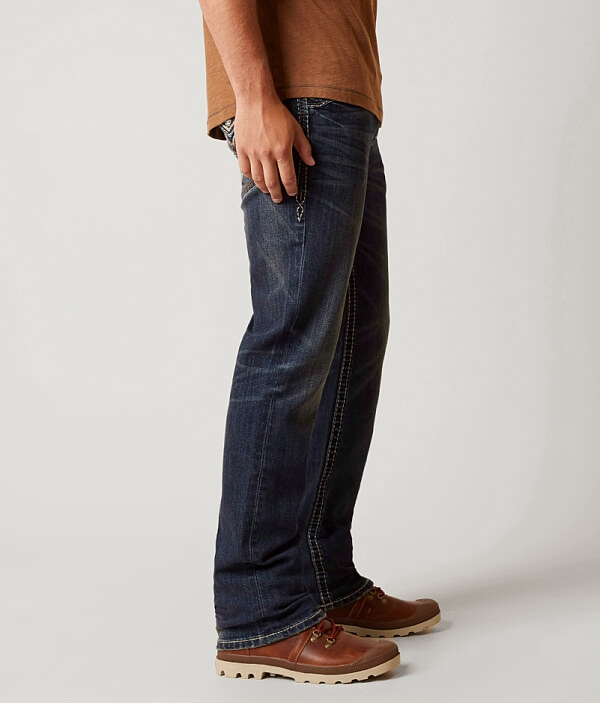 Relaxed Stretch Rock Straight Gore Revival Jean 17 pvvqE