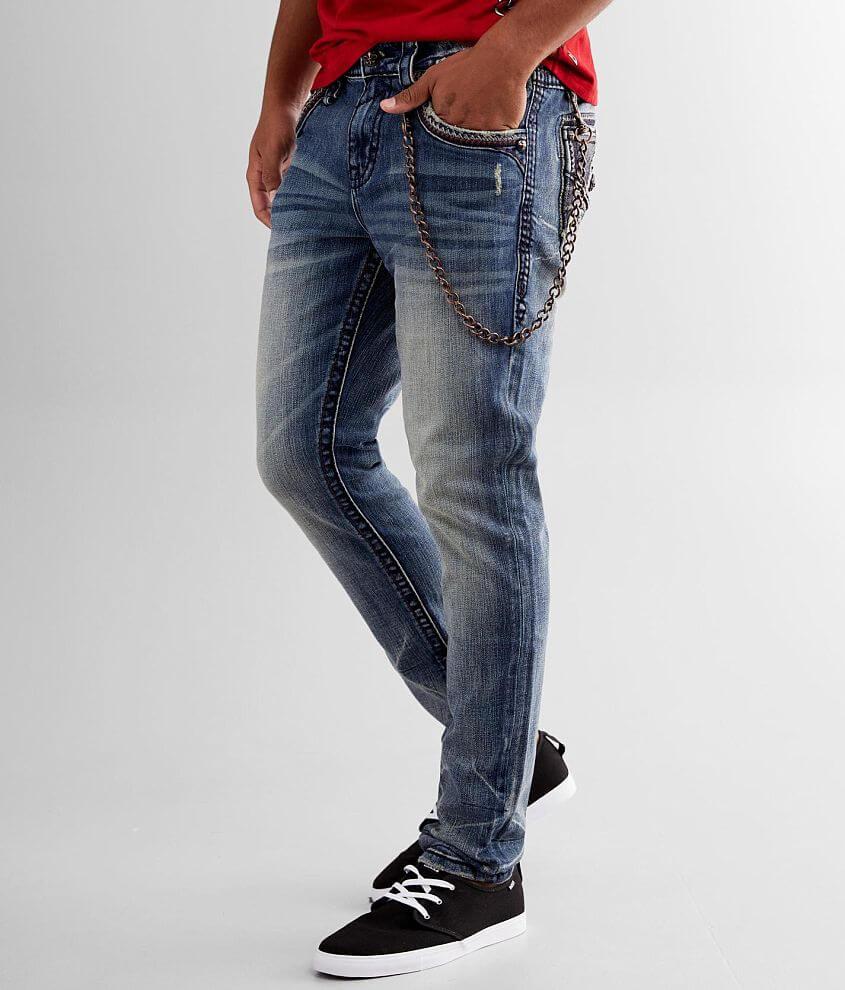 Rock Revival Arnis Slim Taper Stretch Jean front view