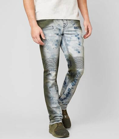 Rock Revival Ayaan Skinny Biker Stretch Jean