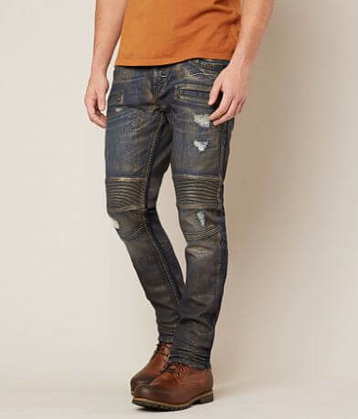 Rock Revival Ayaan Biker Straight Stretch Jean