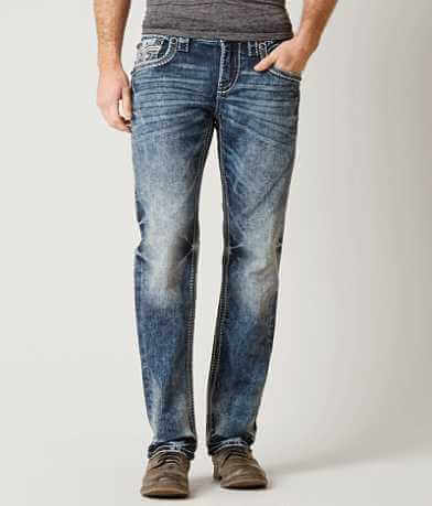 Rock Revival Cael Straight Stretch Jean