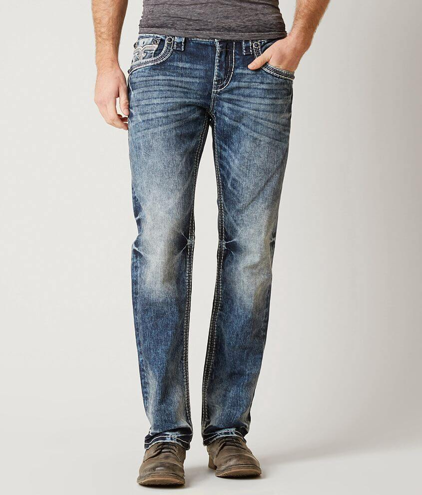 Rock Revival Cael Straight Stretch Jean front view