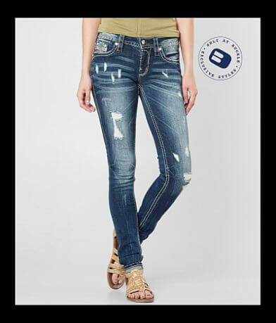 Rock Revival Sherry Mid-Rise Skinny Stretch Jean
