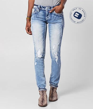 Rock Revival Betty Straight Stretch Cuffed Jean