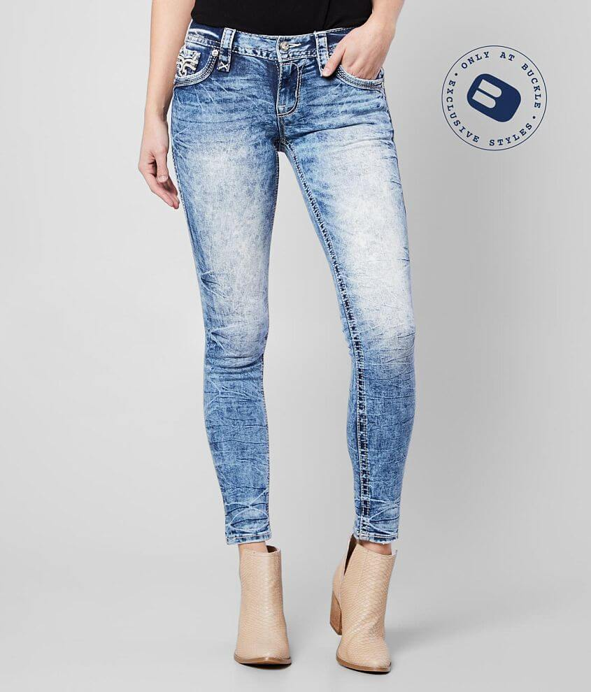 Rock Revival Betty Mid-Rise Ankle Skinny Jean front view