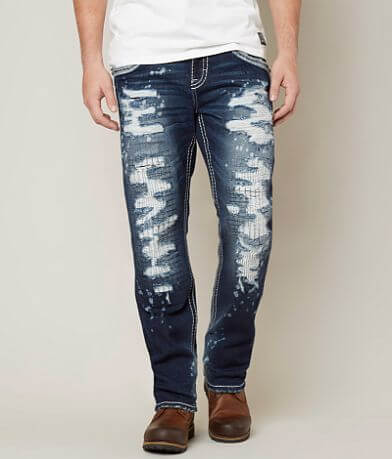 Rock Revival Keene Relaxed Taper Stretch Jean