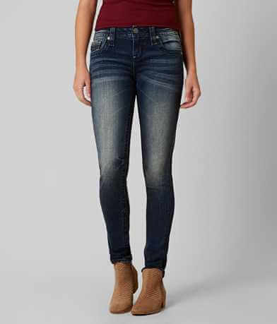 Rock Revival Alivia Skinny Mid-Rise Stretch Jean