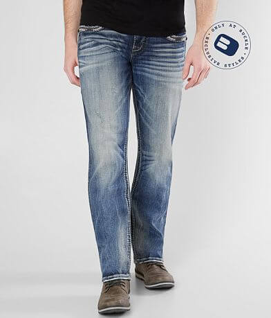 Rock Revival Broddy Relaxed Taper Stretch Jean