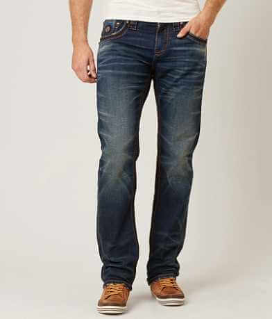 Rock Revival Jamel Straight Stretch Jean