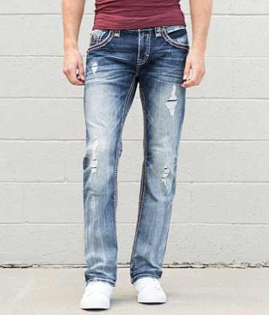 Rock Revival Wren Straight Stretch Jean