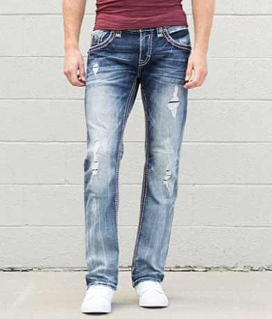 Rock Revival Wren Straight Stretch Jean