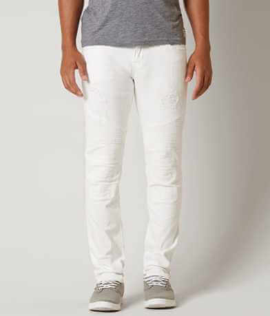 Rock Revival Ivan Moto Slim Straight Stretch Jean