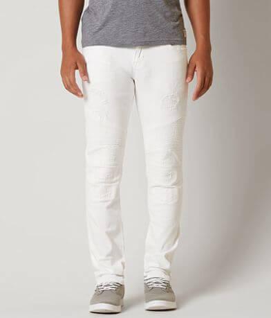 Rock Revival Ivan Moto Slim Straight Stretch Jean