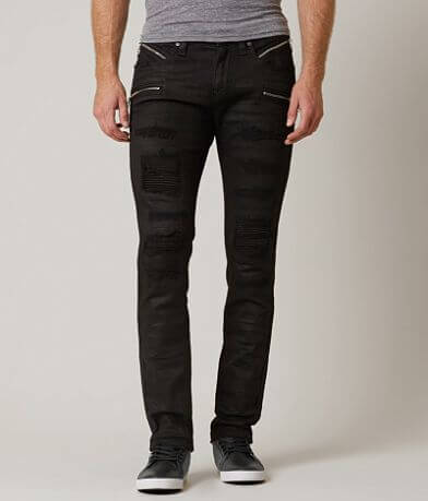 Rock Revival Moto Vaclar Slim Straight Jean