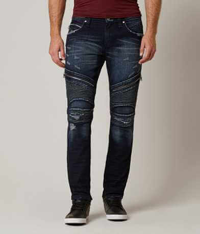 Rock Revival Moto Davidday Slim Straight Jean