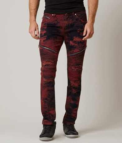 Rock Revival Moto Davidday Slim Straight Jean