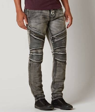 Rock Revival Daviday Moto Stretch Jean