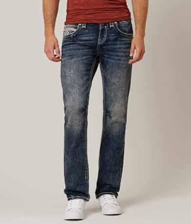 Rock Revival Ece Straight Stretch Jean