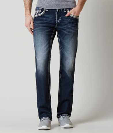 Rock Revival Clem Straight Stretch Jean