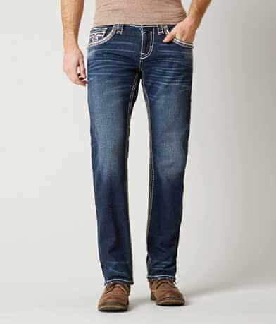 Rock Revival Clovis Straight Stretch Jean