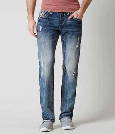 Rock Revival Abner Straight Stretch Jean
