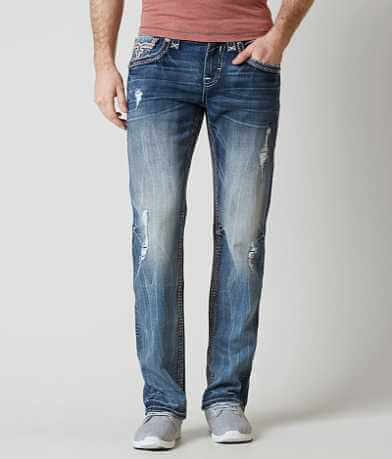 Rock Revival Abner Straight Stretch Jean