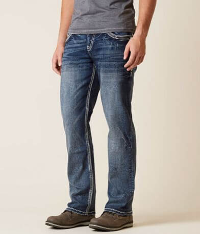 Rock Revival Barry Relaxed Taper Stretch Jean