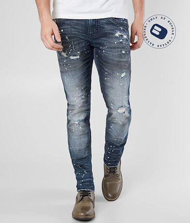 Rock Revival Barry Slim Stretch Jean