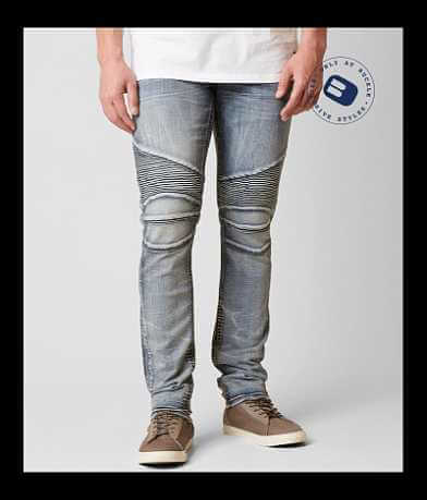 Rock Revival Kaymon Biker Straight Jean