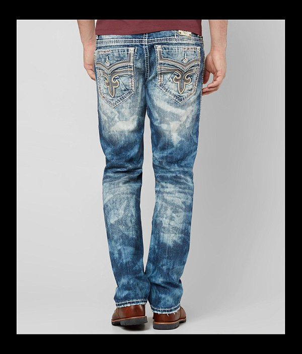 Revival Jean Stretch Rock Straight Rodd nx0pwqqZX