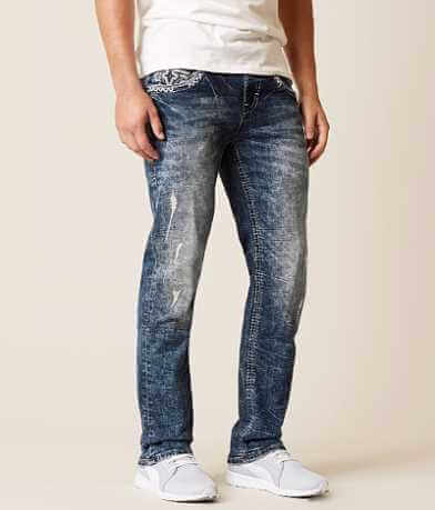 Rock Revival Eben Straight Stretch Jean