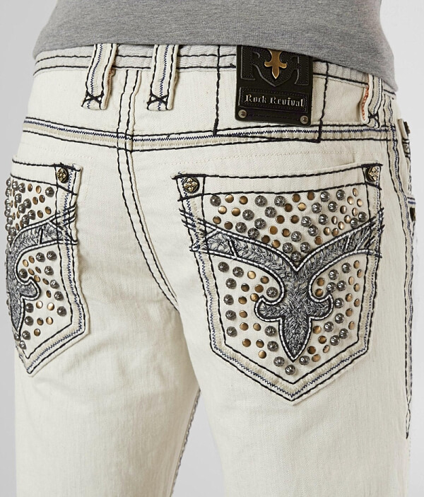 Revival Biker Stretch Granger Rock Jean dEqP7x