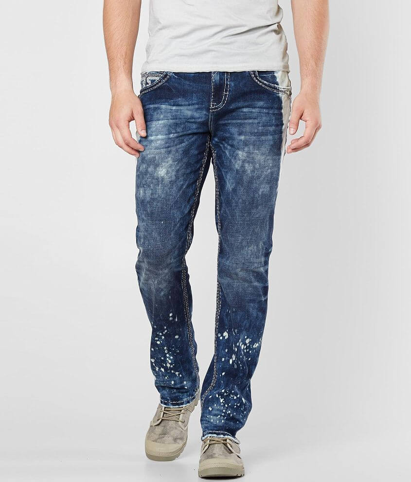 Rock Revival Valter Straight Stretch Jean front view