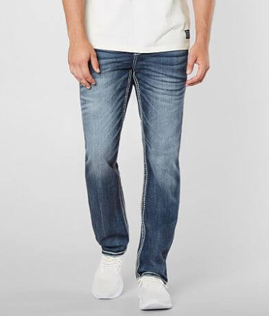 Rock Revival Moises Straight Stretch Jean