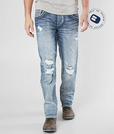 Rock Revival Norman Straight Stretch Jean