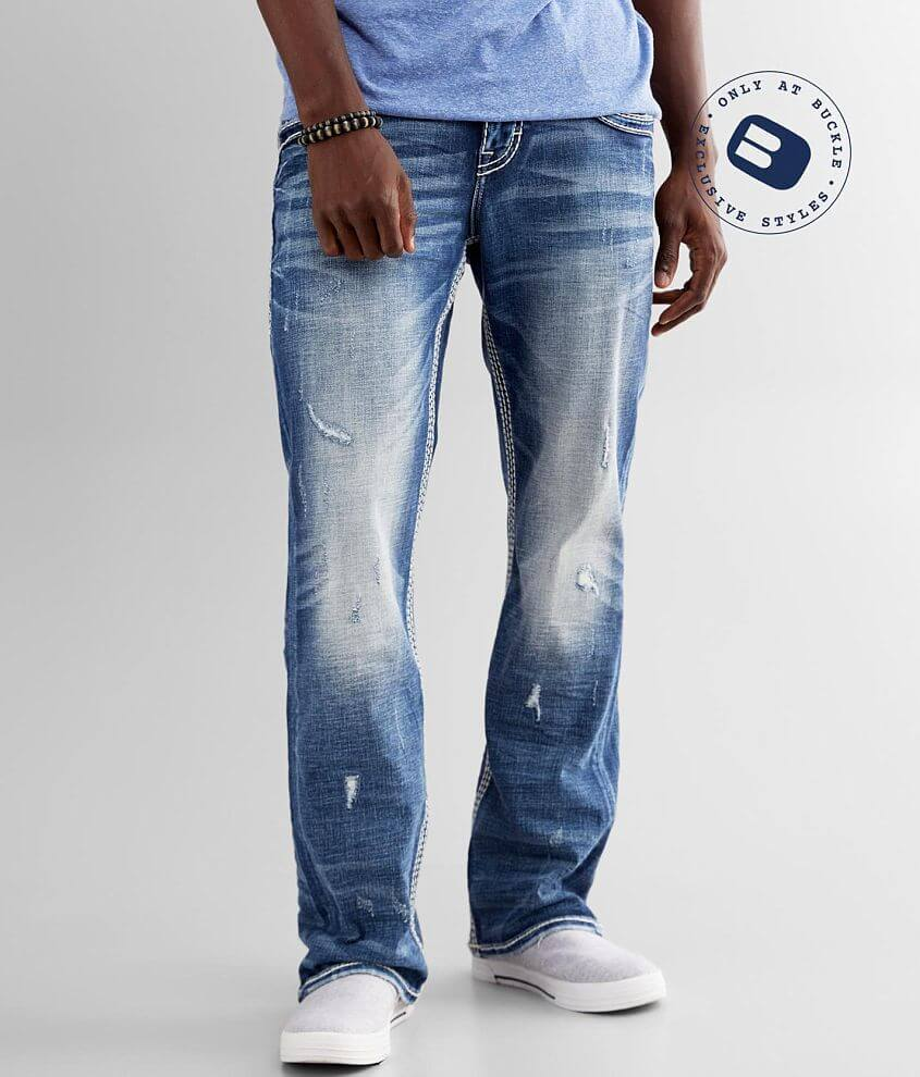 Rock Revival Triton Boot Stretch Jean front view