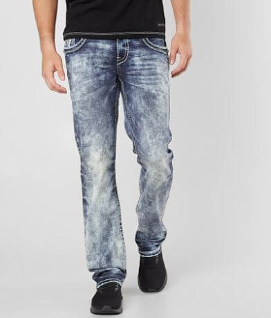 1b4cde173f Rock Revival Arjan Straight Stretch Jean