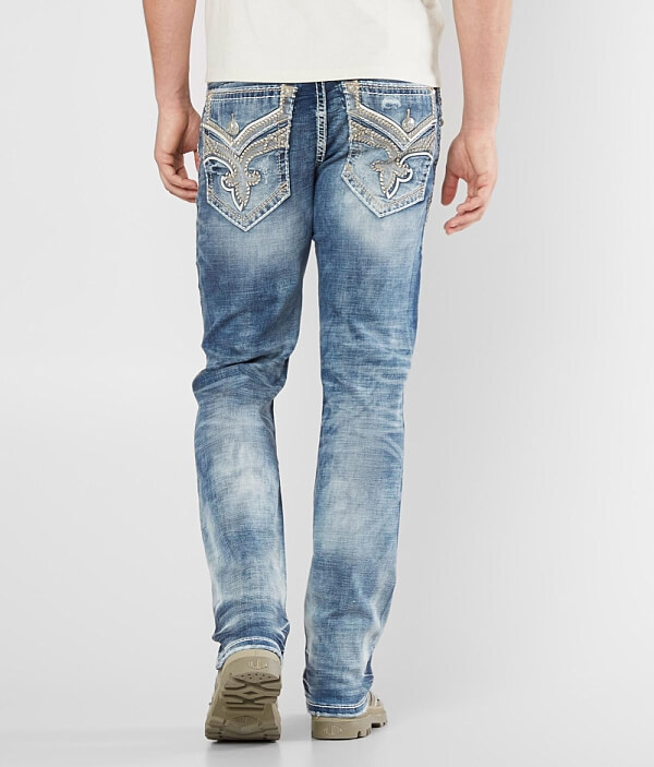 Jean Stretch Rock Arjan Revival Straight IAnUnz