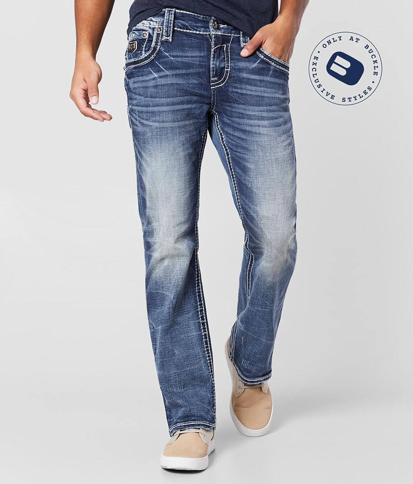 Rock Revival Thao Boot Stretch Jean front view