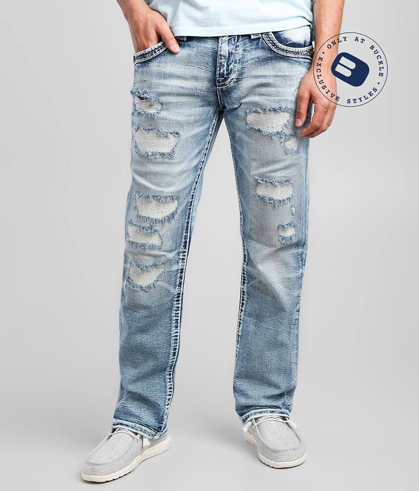 Rock Revival Fonso Straight Stretch Jean front view