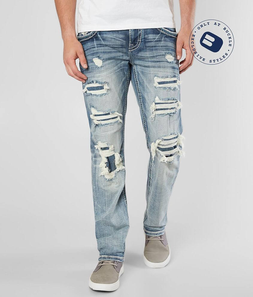 Rock Revival Hern Straight Stretch Jean front view