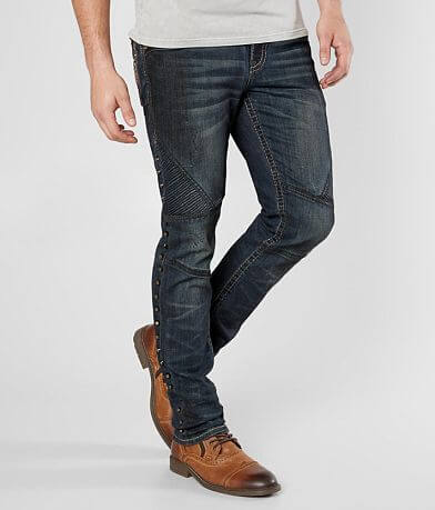 Rock Revival Lampson Biker Stretch Jean