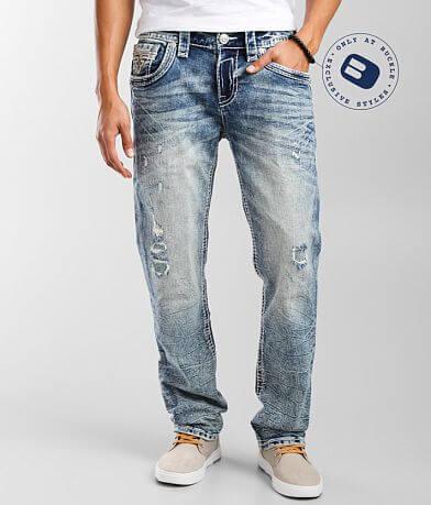 Rock Revival Prewitt Straight Stretch Jean