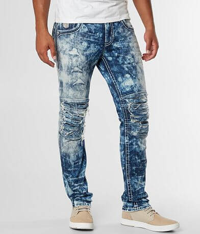 Rock Revival Nikola Biker Stretch Jean