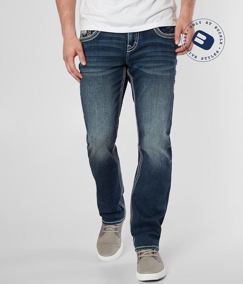 Rock Revival Sarley Straight Stretch Jean front view