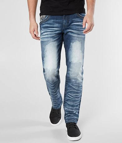 Rock Revival Montell Straight Stretch Jean