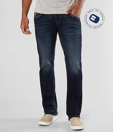 Rock Revival Brad Straight Stretch Jean