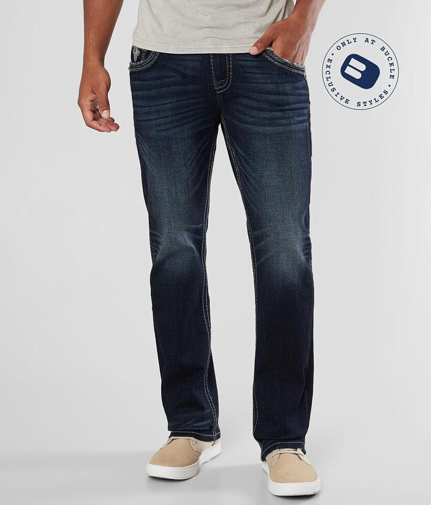 Rock Revival Brad Straight Stretch Jean front view