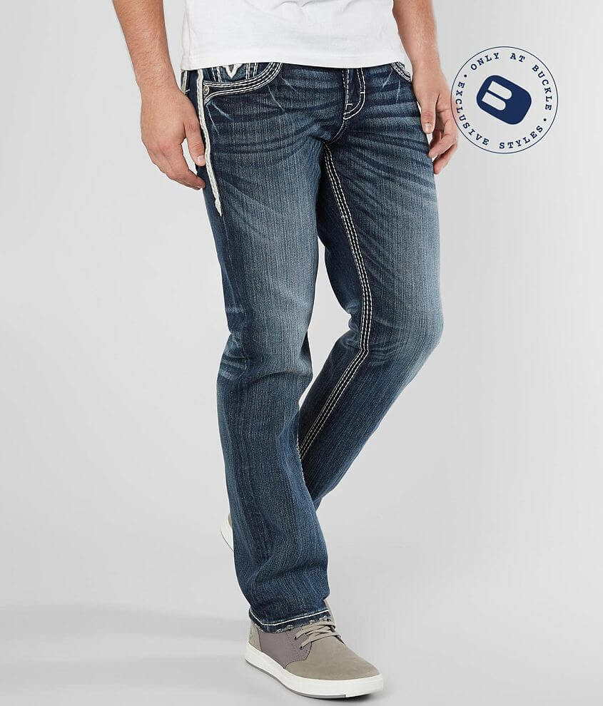 Regular fit jean Comfort stretch fabric Straight from knee to hem Low rise, 16 1/2\\\
