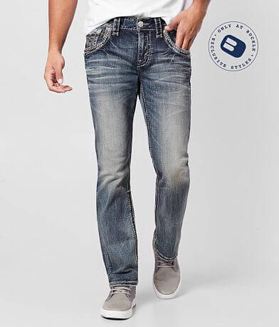Rock Revival Jerret Straight Stretch Jean